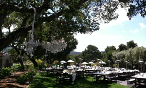 Classic Catering at Holman Ranch Wedding