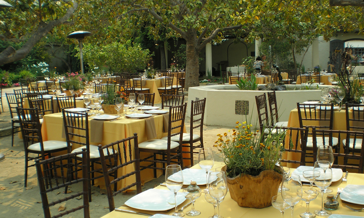 Classic Catering working at Memory Garden Monterey