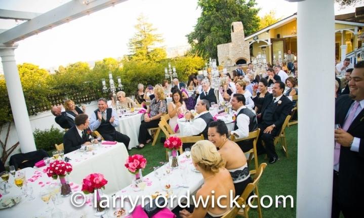 Perry House Garden Wedding Monterey